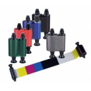 Evolis colour ribbon (YMCKO)