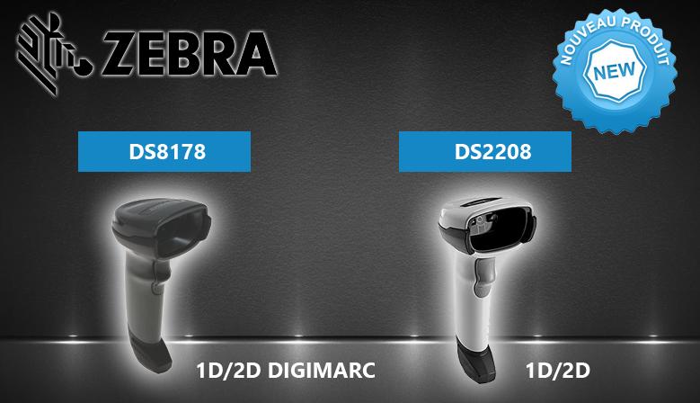 Découvrez les lecteurs code barre DS2208 et DS8178 dès maintenant !