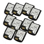 Lot de 10 batteries Zebra CS4070
