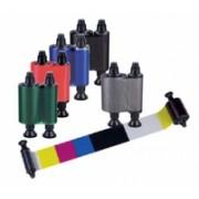 Ruban Evolis couleur demi-panneau YMCKO cassette
